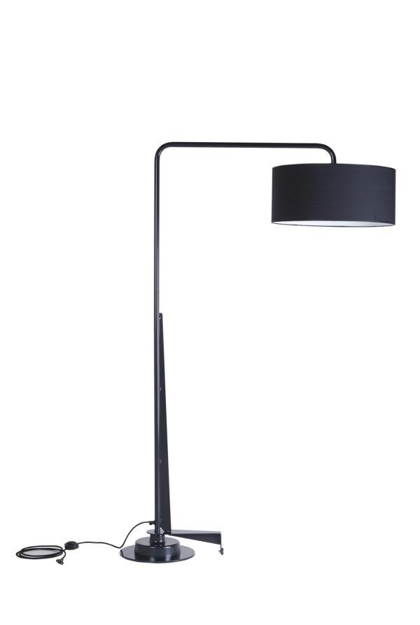 Arcum lamp zwart
