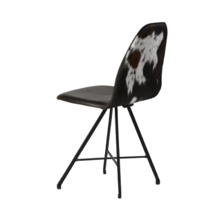 Chair Square steel cow back