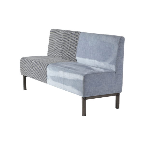 Bench Caro Grey