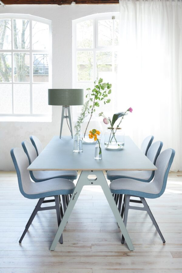 Jane Forbo table and Jane chairs