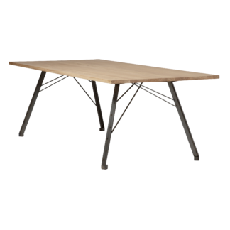 Table Straight ST White