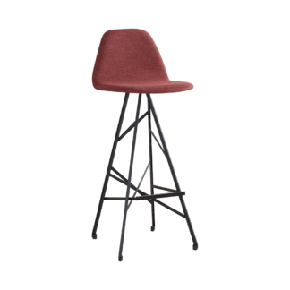 Barchair Piramide high back steel Samual web